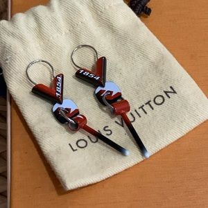 Very rare Louis Vuitton race earrings